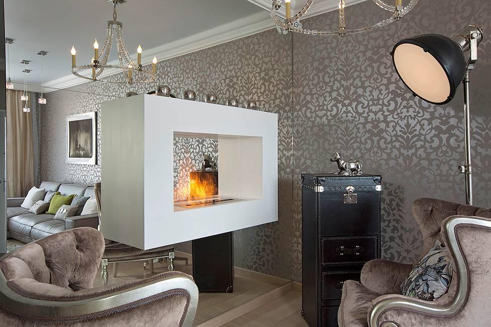 Камин в интерьере, в том числе угловой, дизайн оформления в гостиной своими руками + фото