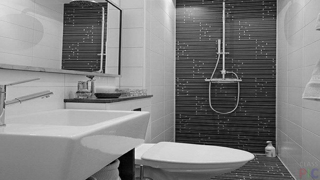 Дизайн небольшой раздельной ванной комнаты без туалета