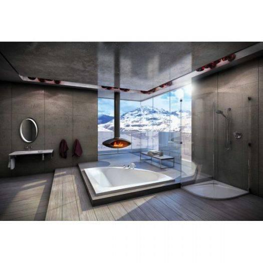 Отделка ванной комнаты плиткой - 40 фото современного дизайна