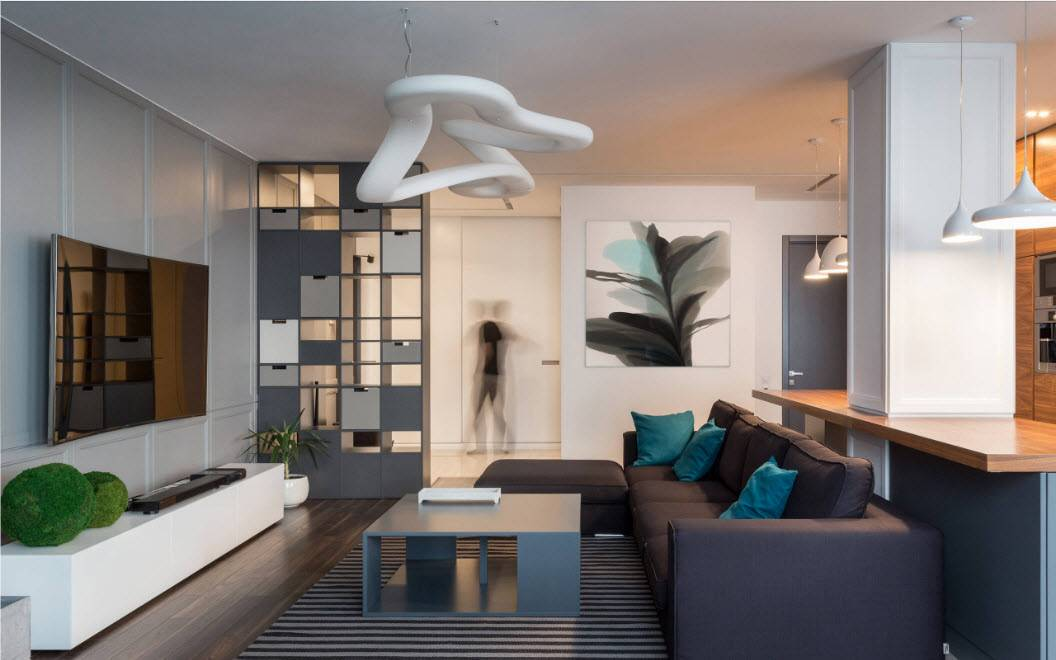 Дизайн однокомнатной квартиры 30 кв. м (63 фото): идеи для проекта и ремонта маленькой студии