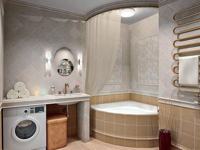 Угловая ванна в интерьере: как выбрать и где разместить?