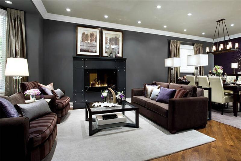 Черная мебель в интерьере: нескучный дизайн вашего дома