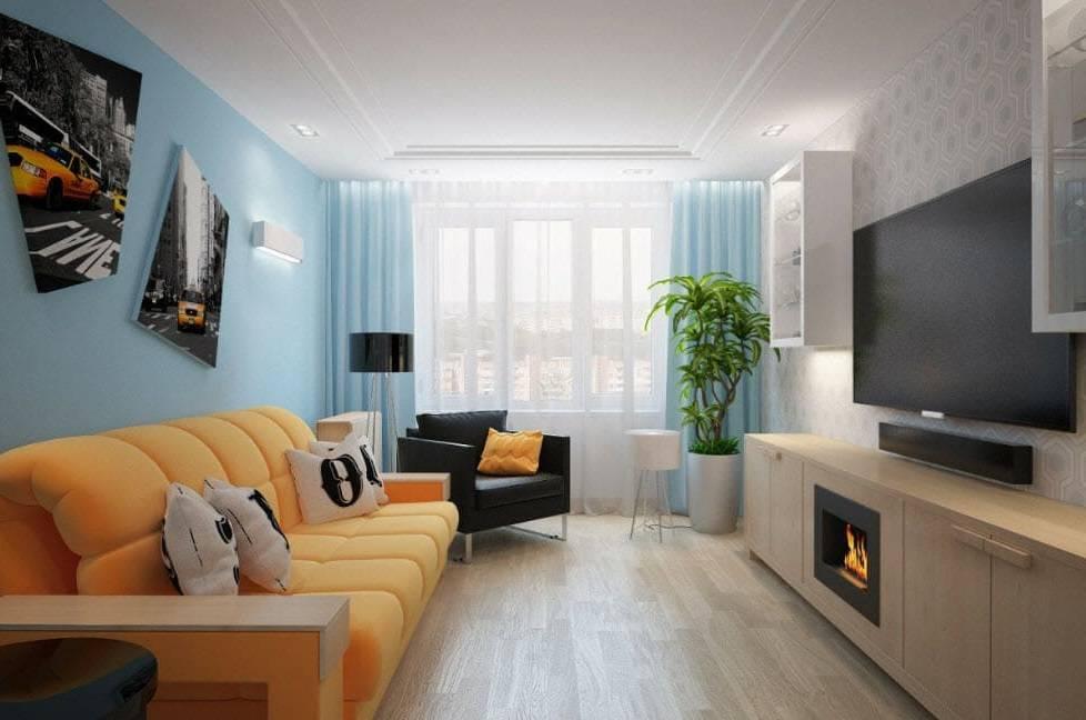 Дизайн гостинной комнаты 17 кв м  в классическом стиле