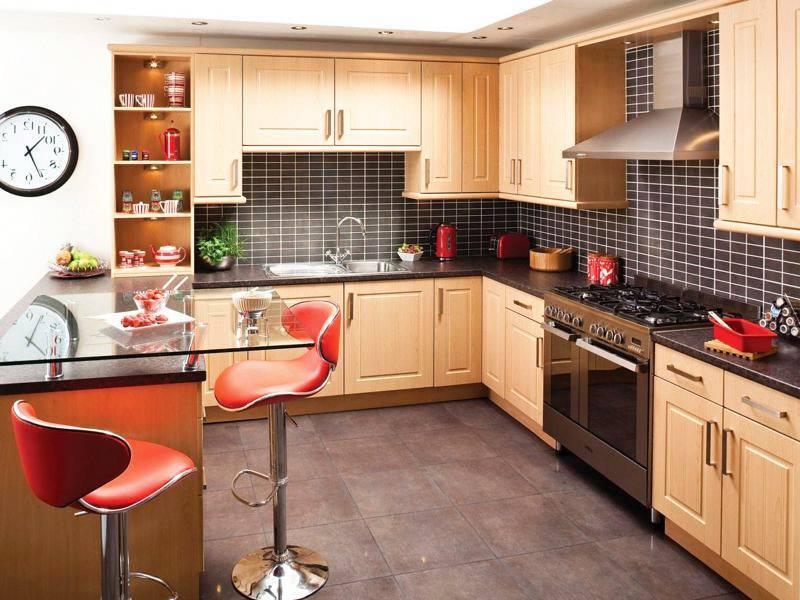 Угловые кухни - 70 фото идей современного дизайна интерьера кухни
