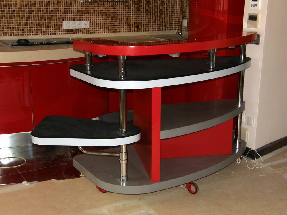 Маленькая кухня с барной стойкой: особенности интерьера | фото