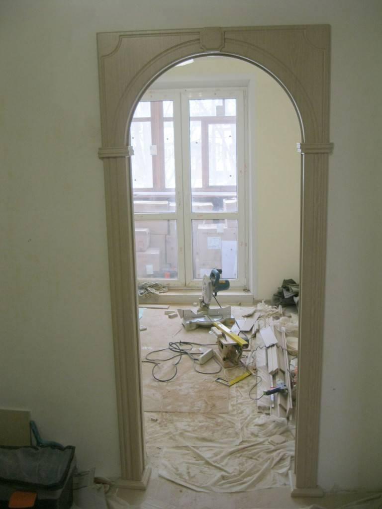 Установка арки в дверной проем своими руками — читайте все нюансы