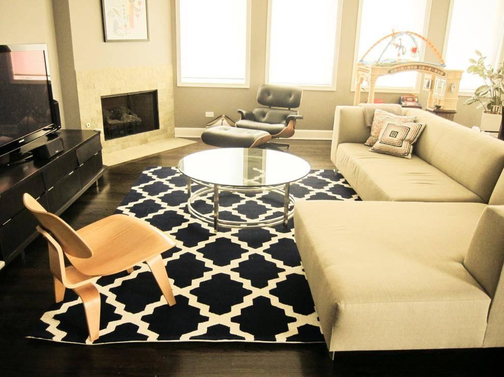 Ковер в гостиную: как выбрать особый штрих к интерьеру? (80 фото)