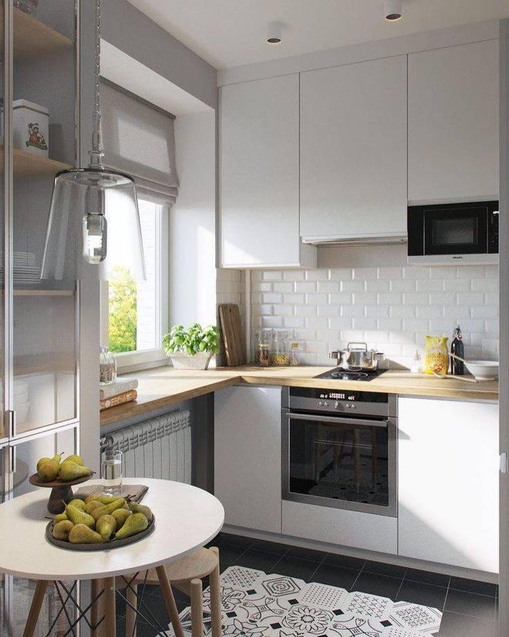 Угловая кухня для маленькой кухни 6 кв м (20 реальных фото): лучшие идеи и примеры