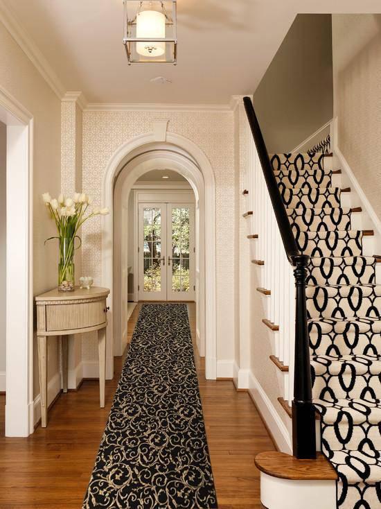 Коврики в прихожую (57 фото): придверные ковры и циновки для обуви в коридор, модели на пол из ковролина и других материалов