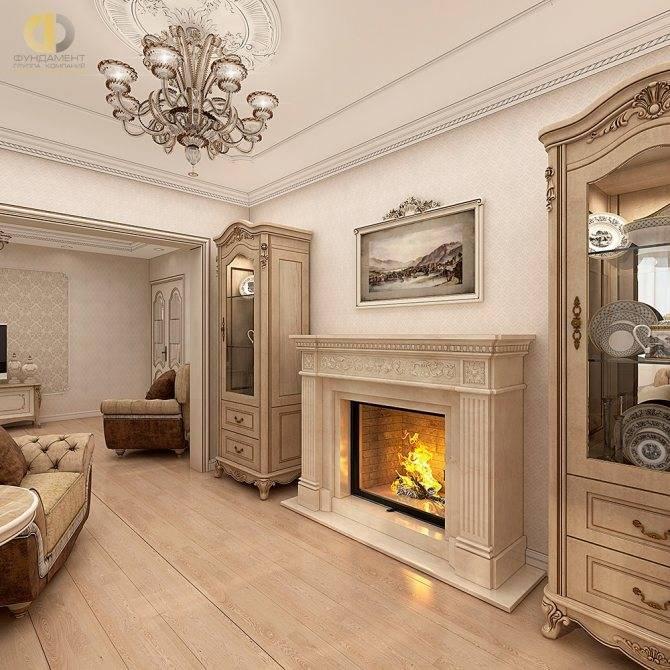 Интерьер квартиры в классическом стиле — 25 фото - «стили» » все о сауне