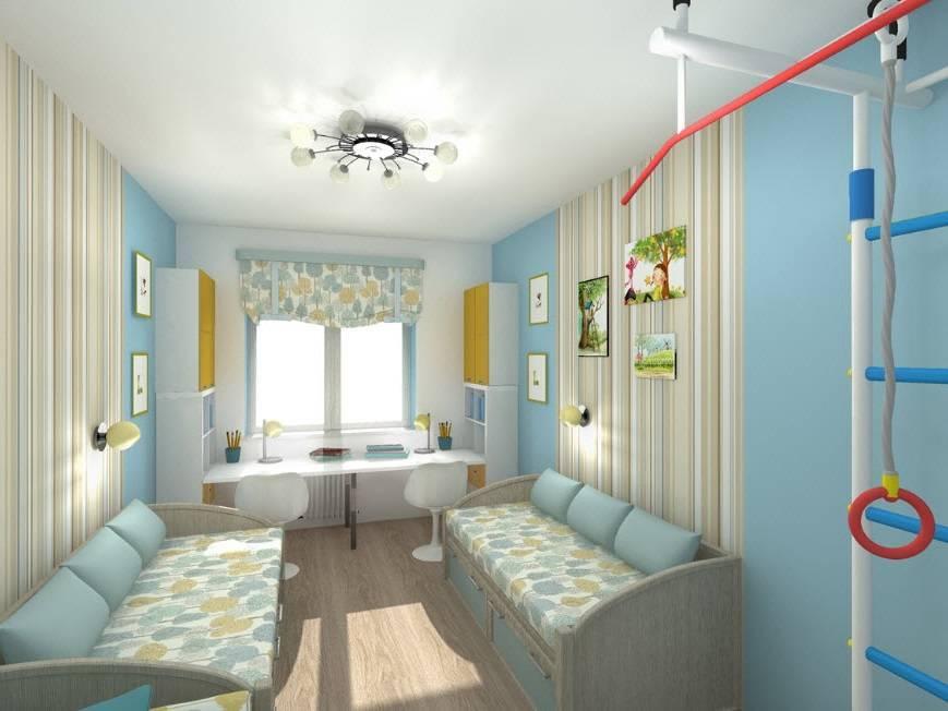 Дизайн детской комнаты 12 кв м для мальчика (20 фото) - варианты интерьера