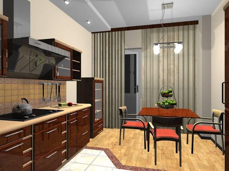 Кухня 14 кв. метров - копилка идей и 30 фото реальных кухонь