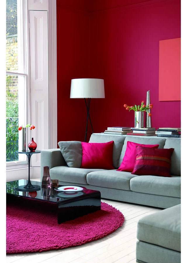 Бордовый цвет в интерьере: сочетание бордо, достойное королей