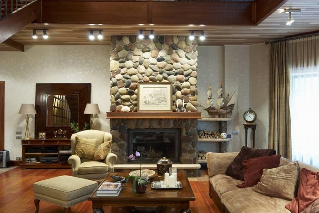 Декоративный камень в интерьере: варианты дизайна, фото – rehouz