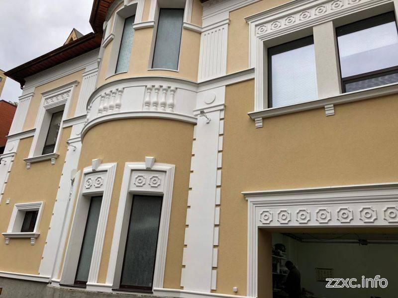 Наружная отделка фасадов - 80 фото реальных примеров декоративного украшения фасада
