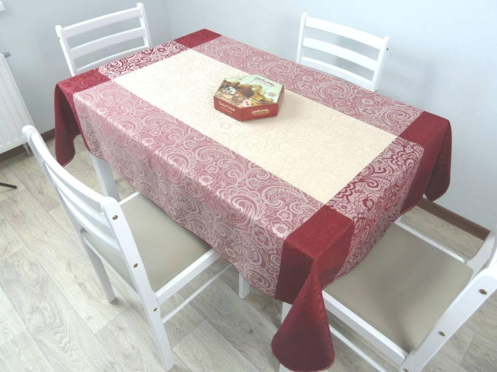 Размеры скатерти на стол