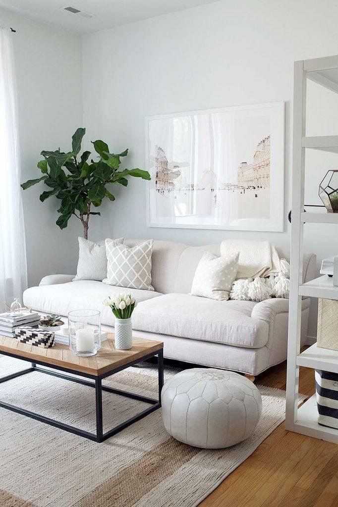 Интерьер в белом стиле — лучшие фото идей дизайна в светлых тонах
