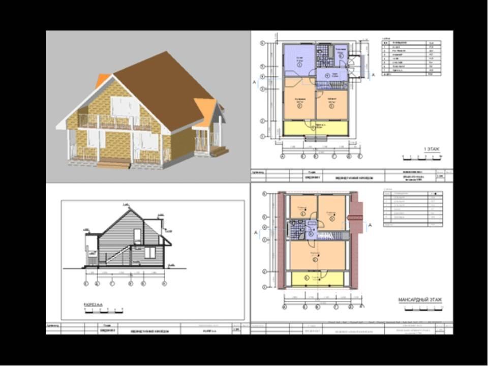 Как выбрать проекты домов из пеноблоков с мансардой и планировкой? виды строительства- обзор +видео