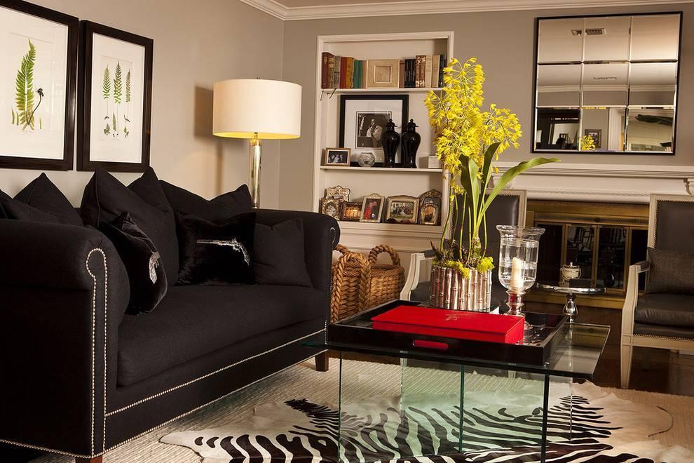 Серый ламинат в интерьере: с каким цветом стен сочетается  - 30 фото