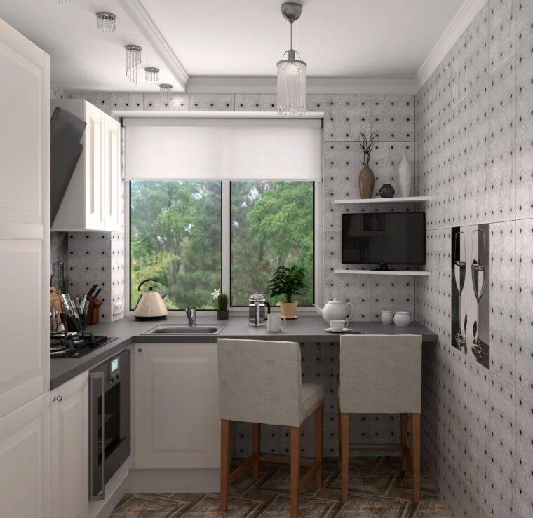 Дизайн кухни в хрущевке 6 кв. м: 60+ красивых фото и идей