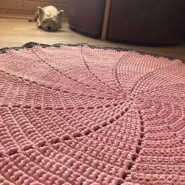 Сколько нужно трикотажной пряжи на коврик: секреты вязания. art-textil.ru