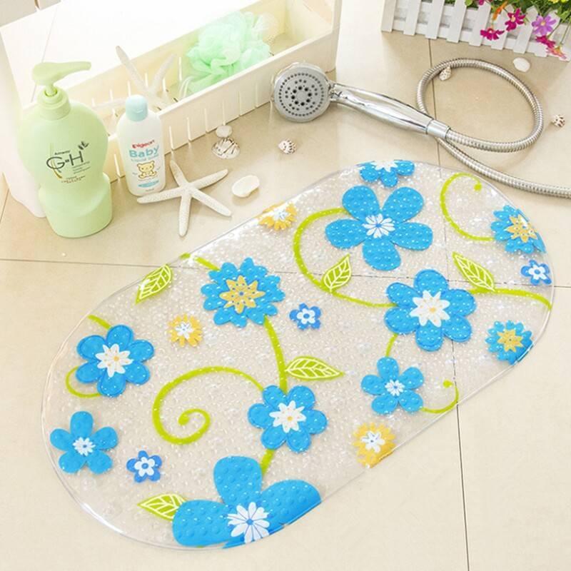 Какие бывают коврики для ванной комнаты