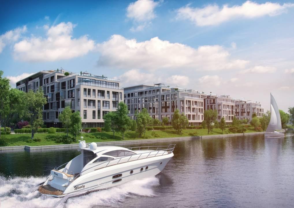 Дома на набережных: выбираем новостройку у воды! жилой комплекс у реки