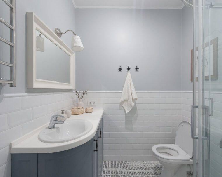 Ванная в скандинавском стиле, 12 фото примеров