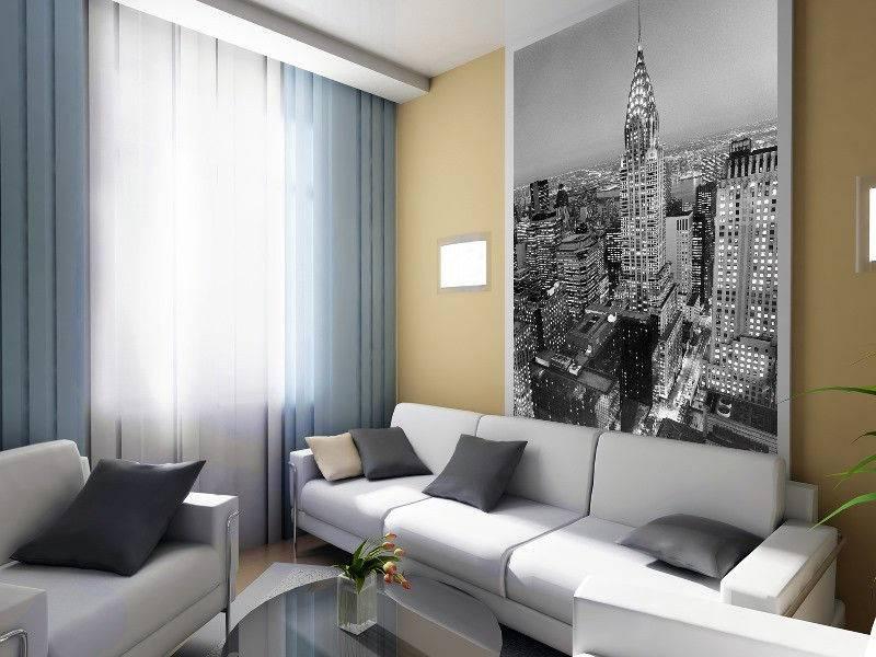 Обои «города» в интерьере: произведения искусства на стенах
