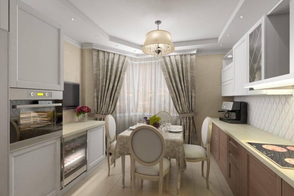 Как обставить кухню размером 11 кв. м и рационально использовать пространство