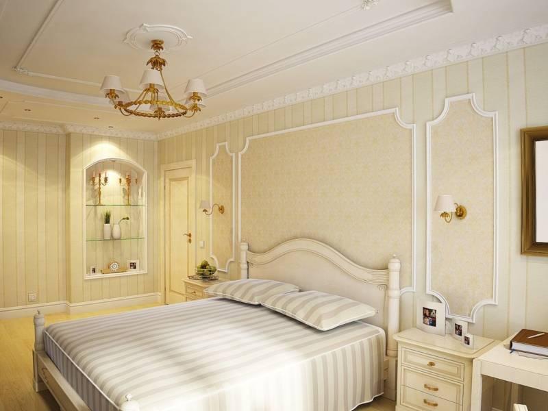 Дизайн спальни 12 кв.м - 100 фото-идей интерьера и планировки