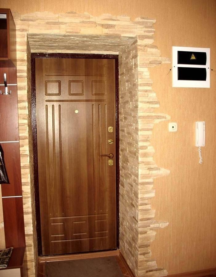 Варианты отделки проемов дверей