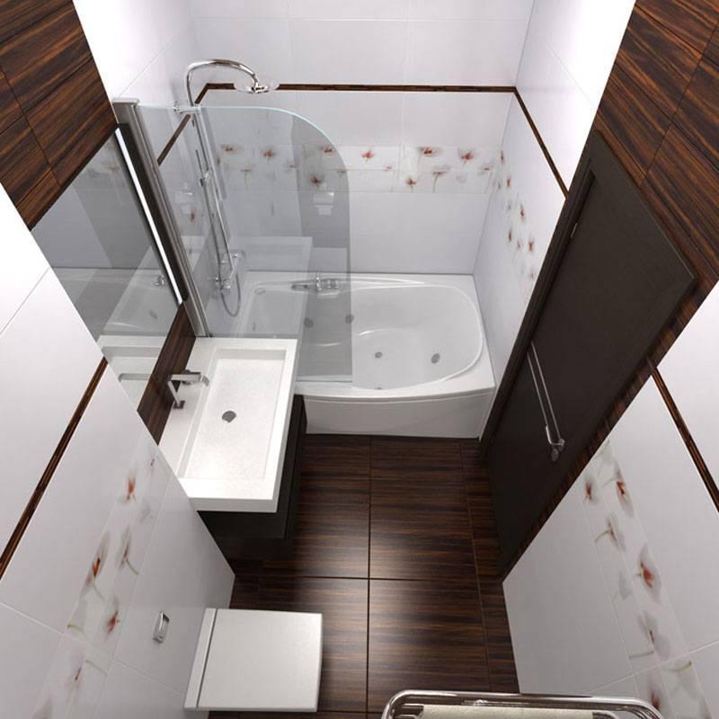 Дизайн ванной комнаты в хрущевке - 90 фото интерьеров после ремонта, красивые идеи маленького санузла