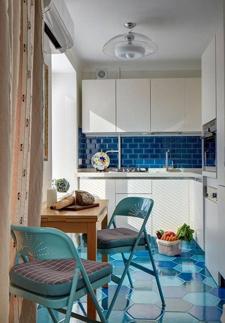 Дизайн интерьера маленькой кухни (90 фото)
