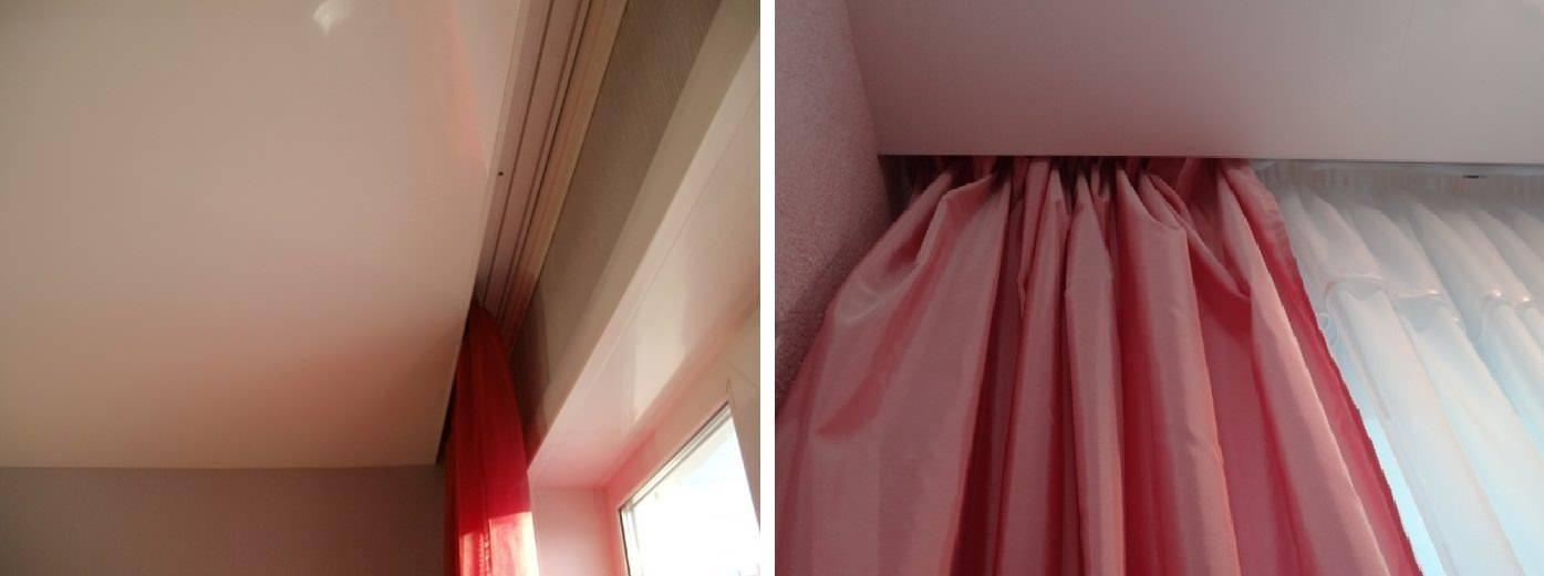 Потолочный карниз для натяжных потолков (50 фото): скрытый в нише, открытый и встроенный для штор, какие лучше выбрать