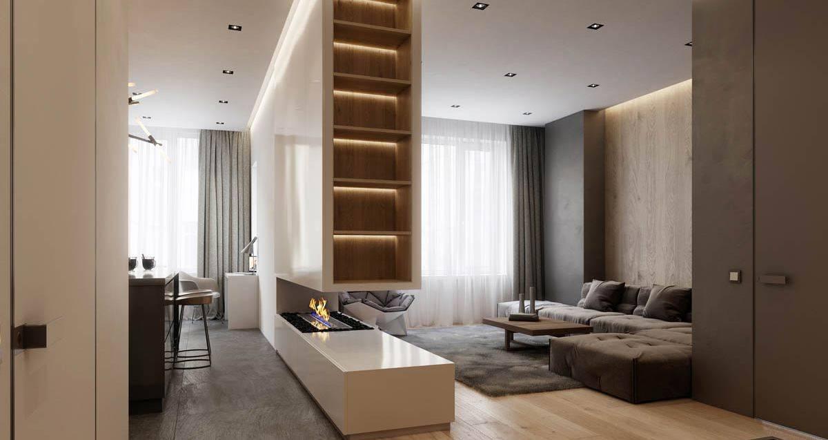 Дизайн евротрехкомнатной квартиры