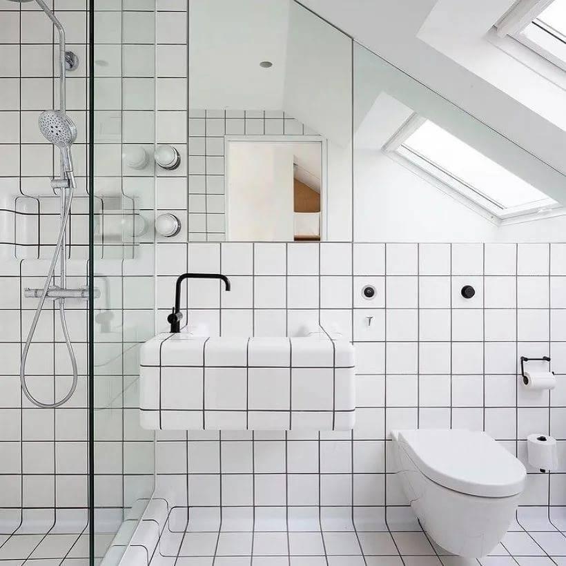 Тонкости оформления ванной комнаты в стиле лофт