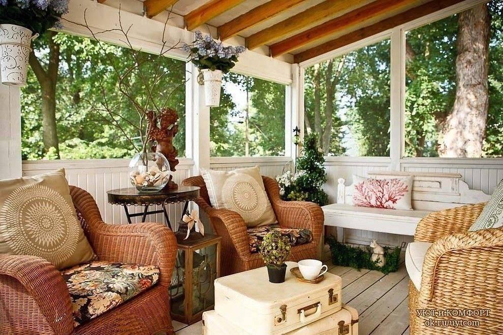 Терраса на даче — комфортно жить не запретишь!
