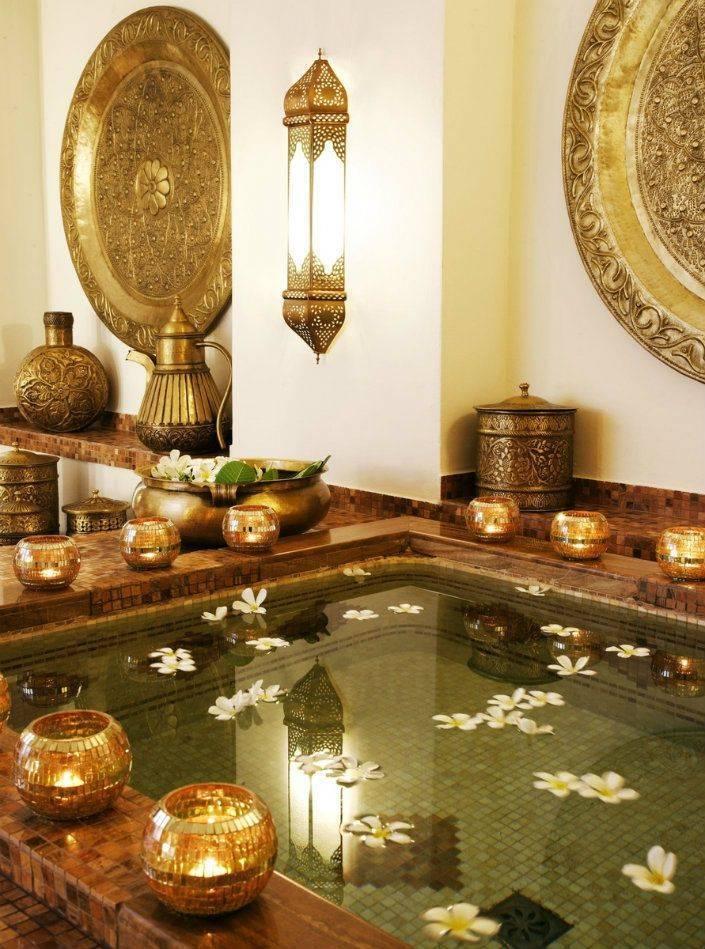 Плитка в восточном стиле ( 41 фото): керамическая плитка с орнаментом в арабском стиле