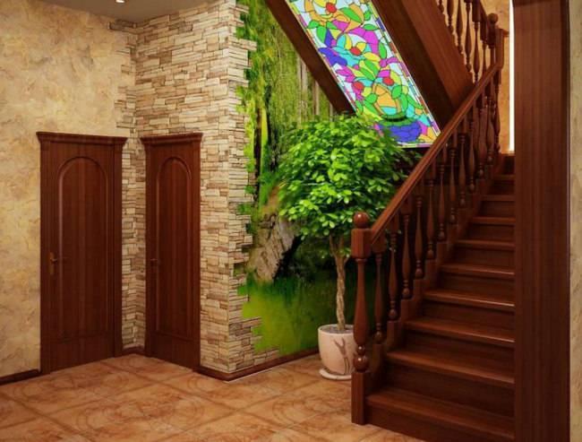 Дизайн холла с лестницей в частном доме: варианты планировки и  оформления