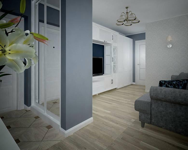 Квартира 55 кв. м: дизайнерские решения и планировка