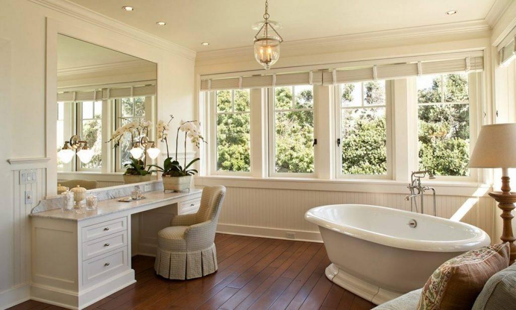 Ванная с окном: идеи дизайна и примеры реализации стильных проектов (120 фото)