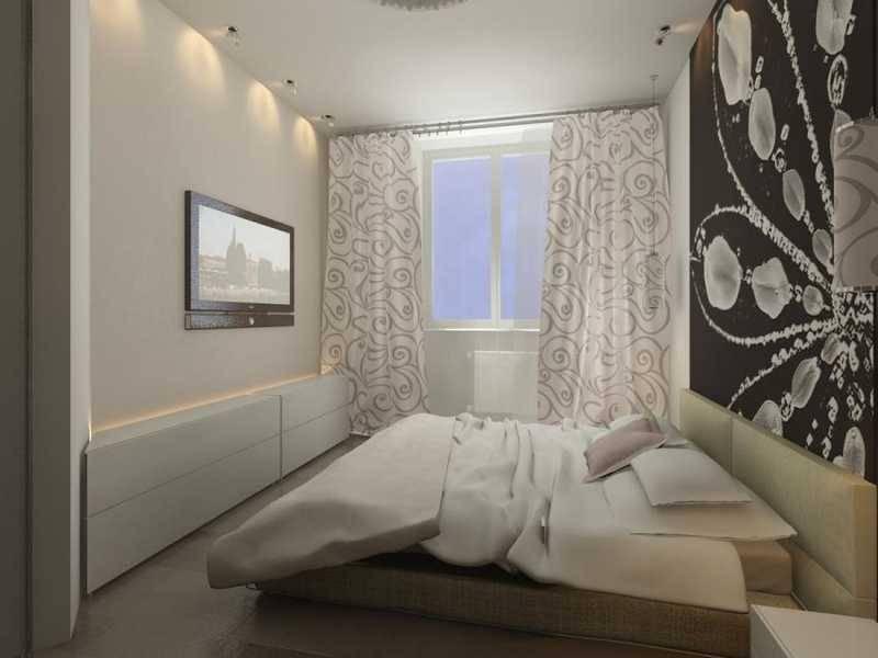 Спальня 13 кв. м. - 115 фото реального оформления и примеры размещения интерьера в типовых комнатах