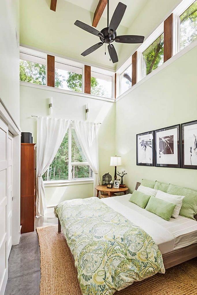 Идеи дизайна узкой спальни