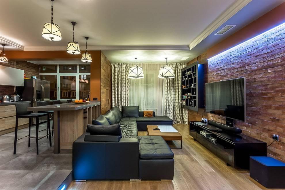 Кухня-гостиная 21-22 кв. м (51 фото): дизайн и планировка кухни-гостиной 21-22 квадратных метров