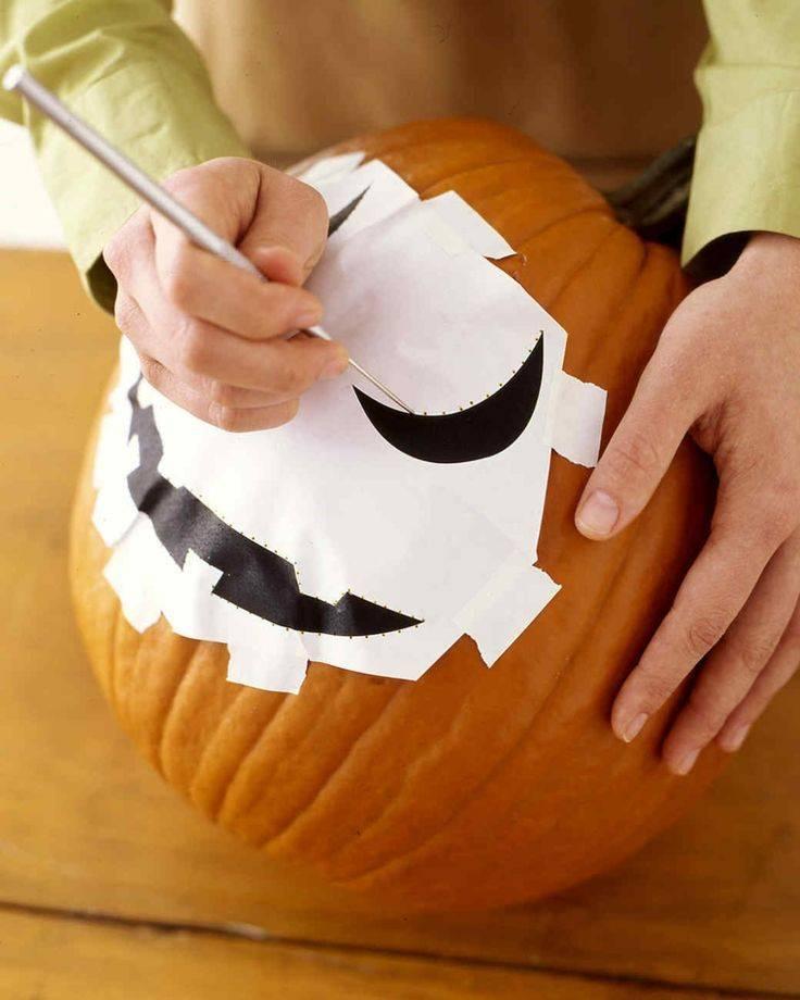 Тыква на хэллоуин своими руками: 25 идей с фото и шаблонами