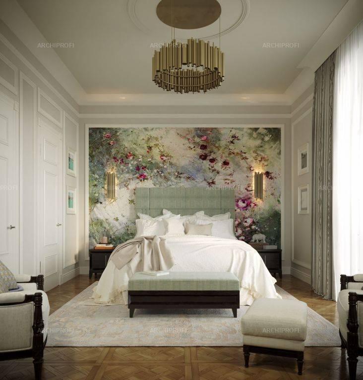 Дизайн спальни в классическом стиле (75 фото) - варианты интерьера