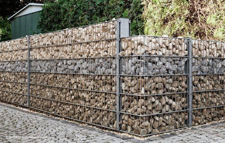 Забор из габионов: самостоятельное изготовление | моя дача забор из габионов: особенности и самостоятельное изготовление | моя дача