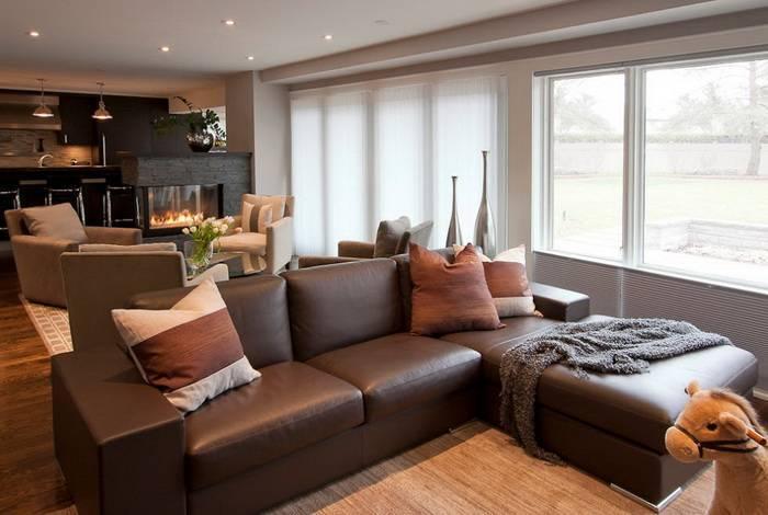 Серый диван: особенности цвета, правила сочетания, фото в интерьере