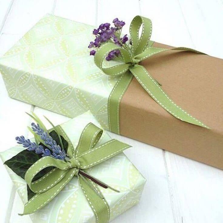 Как красиво упаковать подарок - коробочка идей и мастер-классов